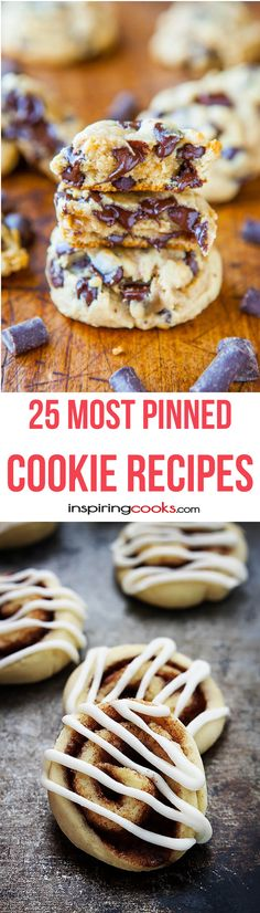 25+ Most Pinned Cookie Recipes