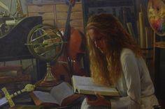 BYU Unveils New Art by Greg Olsen. Starring Claire! | Ann's Words