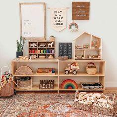 Playroom Design, Kids Room Design, Playroom Decor, Baby Room Decor, Nursery Room, Kids Bedroom, Vintage Playroom, Family Room Playroom, Playroom Paint