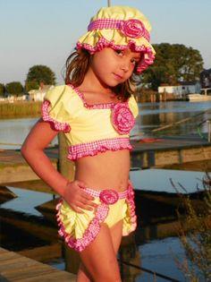2e2d3df748595 Vintage Childrens Swimwear - Chichanella Bella Little Girl Fashion