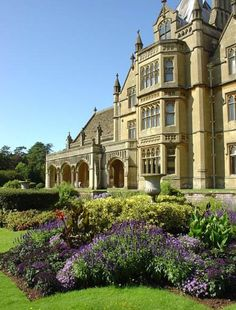 Tyntesfield, Somerset England  Eras of Elegance - Victorian Architecture: Greek Revival, Gothic Revival, Italianate, Second Empire, Stick-Eastlake, and Queen Anne Styles