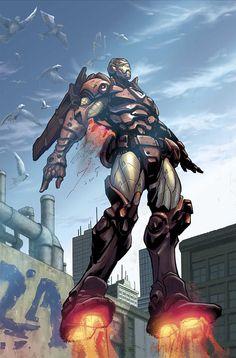 Iron Man #89 by Pat Lee