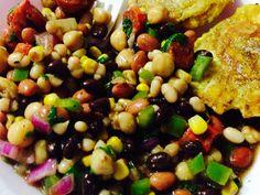 My very own bean salad...