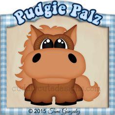 Pudgie Palz-Horse