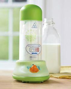 O nowych produktach Beaba:  Bib`Seconds, robocie BabyCook, suszarce do butelek i koszyczku Babycook. / Beaba's New Products Make Cooking For Kids a Snap