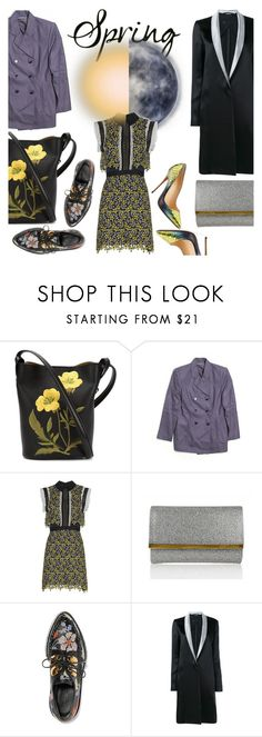 """""""Spring Day to Night"""" by robanav ❤ liked on Polyvore featuring STELLA McCARTNEY, self-portrait, Judith Leiber, Alexander McQueen, Haider Ackermann and daytoevening"""