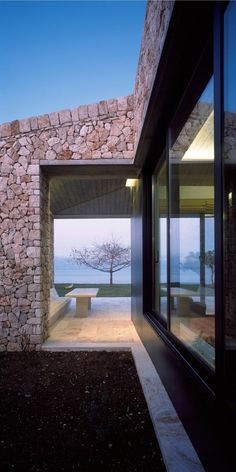 Gallery - Rodia Stone House / Nikos Smyrlis Architect - 13