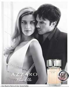 New picture of Ian and Ana for Azzaro.