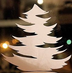 Weihnachten Fensterdeko