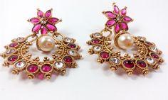 Designer Chand Bali Earrings