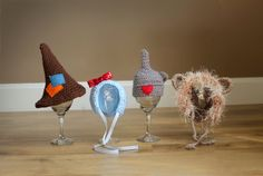 Newborn Wizard of Oz Inspired Crochet Hat Bonnet by PropsByEmily