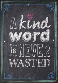 A kind word is never wasted… Inspire U Poster by Creative Teaching Press. NEW Inspirational posters