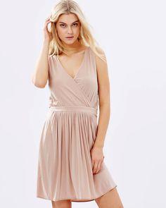 16436bbbb12 Tiffany Ruffle Hem Maxi Dress   Mauve