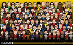 Find your favorite football player ! - Football