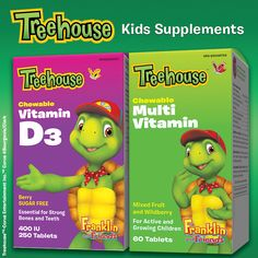 Treehouse Chewable Multi Vitamin provides peace of mind that your little ones are getting the vitamins they need.