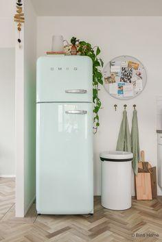 Mijn Smeg koelkast groen retro hometour ©BintiHome