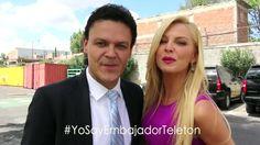 Chava (Pedro Fernández) y Sofía (Marjorie de Sousa) te invitan a donar al Teletón con muchas sorpresas en Hasta el fin del mundo.
