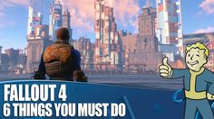Fallout 4 Gameplay - 6 Things You Must Do Fallout 4 Secrets, Fallout 4 Tips, Fallout Game, Fallout New Vegas, Fallout 4 Magazines, Fallout Settlement, Video Game Memes, Geek Games, Game Guide