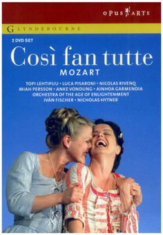 Mozart: Cosi Fan Tutte / Lehtipuu, Pisaroni, Fischer, Orchestra of the Age of Enlightenment Composer: Mozart  Conductor:...