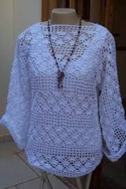 Afbeeldingsresultaat voor blusa de croche com grafico