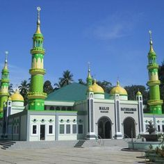 Masjid Baiturrahman Sungayang, Sumatera Barat, Indonesia