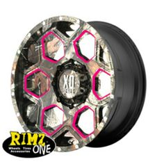 Camo XD rim with pink