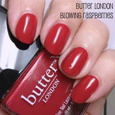 butter LONDON — Blowing Raspberries (Core Collection)