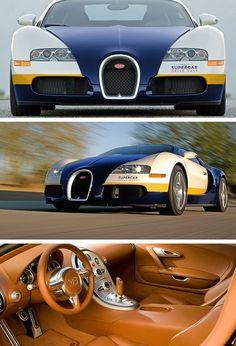 Bugatti Veyron Gorgeous Interior