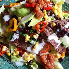 SOUTHWEST STEAK SALAD – No Excuses Nutrition
