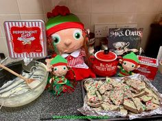 The kids look forward to this one every year, when Chilly's Mum visits she always makes a batch of delicious Peppermint bark. Woodland Elf, Peppermint Bark, Father Christmas, Magical Creatures, Family Traditions, Easter Bunny, Elf On The Shelf, Elves, Over The Years