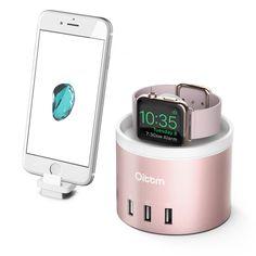 Oittm Charger Stand für Apple Watch 3-Port: Amazon.de: Elektronik
