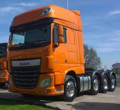 DAF XF95 heavy haul tractor -2015 CV Show