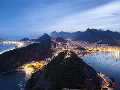 Picture of the skyline in Rio de Janeiro, Brazil