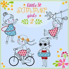 little SUMMER girls 2 komplette Serie