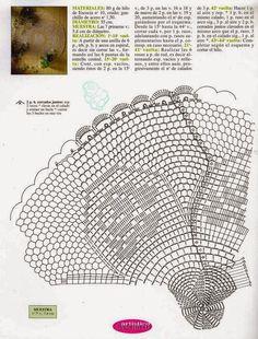 croche: Two crochet doilies