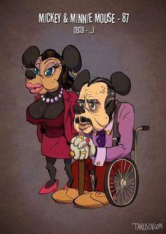Andrew Tarusov - personajes animados