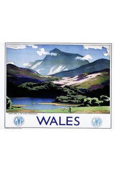 Wales by Great Western Railway.
