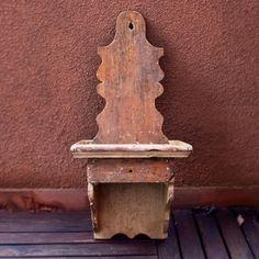 Mensolina con cassetto provenzale anni '50 produzione francese bei segni del tempo #mensola #provenzale #francia #france #anni50 #50s #patina #rustico #country #shabbychic by vintagedopes