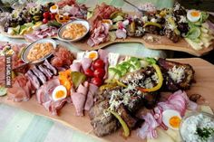"""One of the most delicious foods from Austria. Its called """"Brettljause"""""""