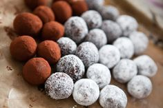 Selfmade Truffles with Brittles