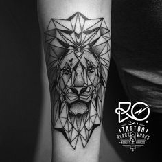 geometric lion illustration - Buscar con Google