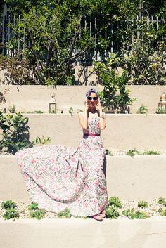 Nicole Richie's exquisite dress