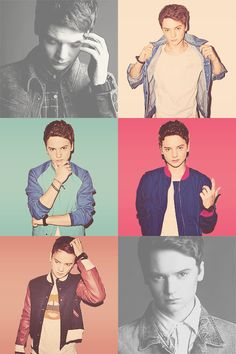 Conor Maynard. Kinda boy bandish..but he's got a dreamy voice, plus he's english ;)
