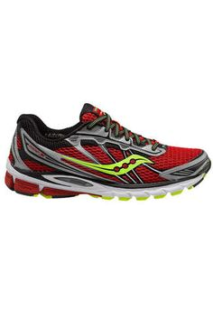 huge selection of 41fb0 3bf1a New Saucony Men s Ride 5 Red Citron Running Shoe M 12 US NIB Athletic Shoes