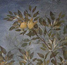 Cutting Edge Stencils - Citrus Leaves Stencil.  $24.95. See more Fresco & Mural stencils: http://www.cuttingedgestencils.com/wall-stencils-mural-stencils.html  #frescostencils #muralstencils #stencils #cuttingedgestencils #stenciling #stencilpatterns