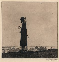 the lark. heinrich vogeler, 1899.