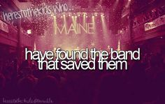 here's to the kids who have found the band that saved them.... one direction and bon jovie Nd maroon 5