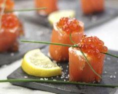 Maki de fromage frais au saumon