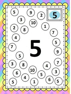 Number Worksheets Kindergarten, Preschool Writing, Numbers Preschool, Preschool Learning Activities, Learning Numbers, Writing Numbers, Activities For 2 Year Olds Daycare, Autumn Activities For Kids, Math For Kids