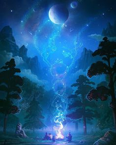 Fantasy Worlds on - Fantasic fantasy places - art scenery Fantasy Artwork, Fantasy Art Landscapes, Fantasy Landscape, Landscape Art, Landscape Design, Digital Art Fantasy, Space Fantasy, Fantasy Concept Art, Fantasy Paintings